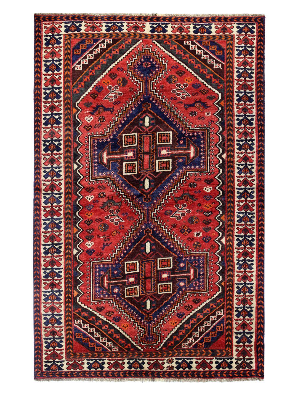 Persian Shiraz Hand-Knotted Rug by Bashian Rugs