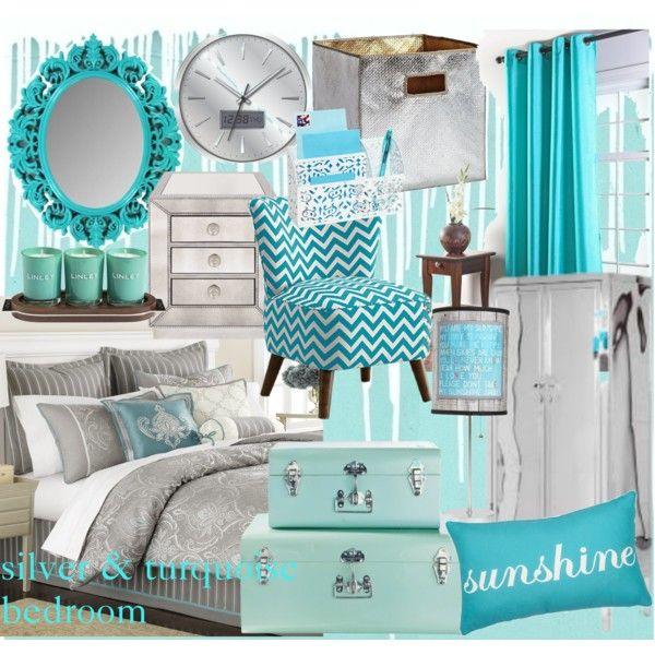 Besten Schlafzimmer Dekor Türkis | Blaugrünes schlafzimmer ...