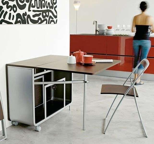 Tavoli a scomparsa - Mobili pieghevoli per la cucina | Pinterest