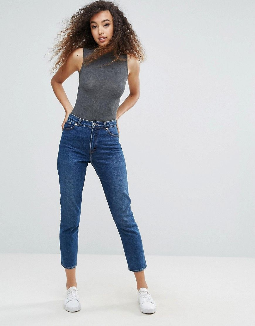 Lace bodysuit high neck  mbyM High Neck Bodysuit  Gray  FASHION ADDICT  Pinterest