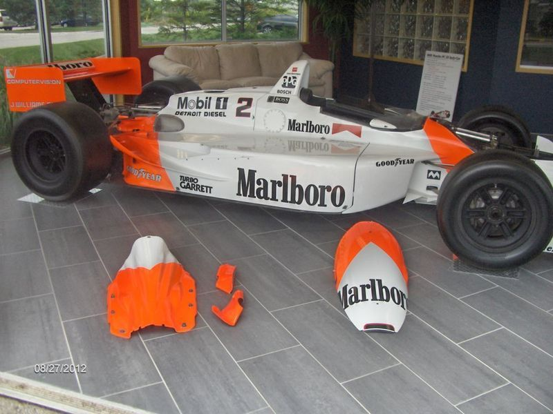 1993 Penske PC-22 CART Racing Car. Penske test car, Chassis 001 ...