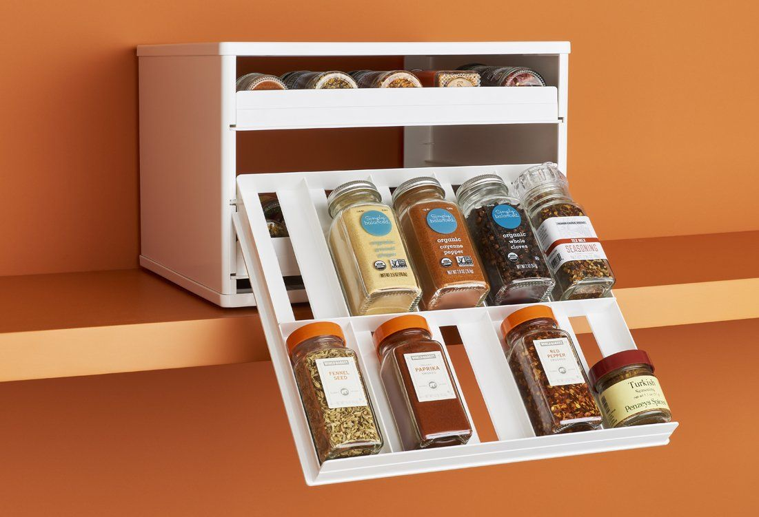 Teastand Tea Bag Cabinet Organizer And Caddy Cabinet Spice Rack