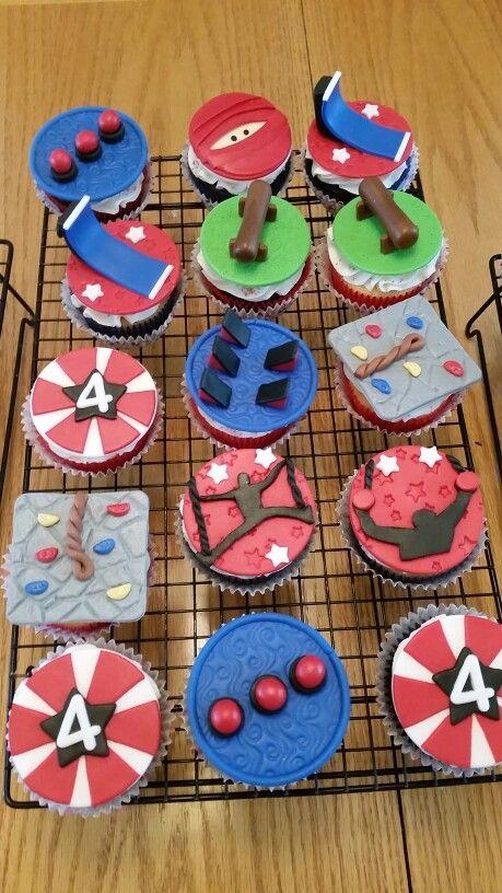 American Ninja Warrior Theme Cakes N Cupcakes Ninja Warrior