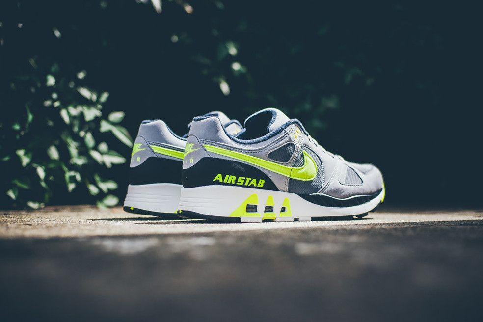 Nike Air Max Stab: Grey/Volt