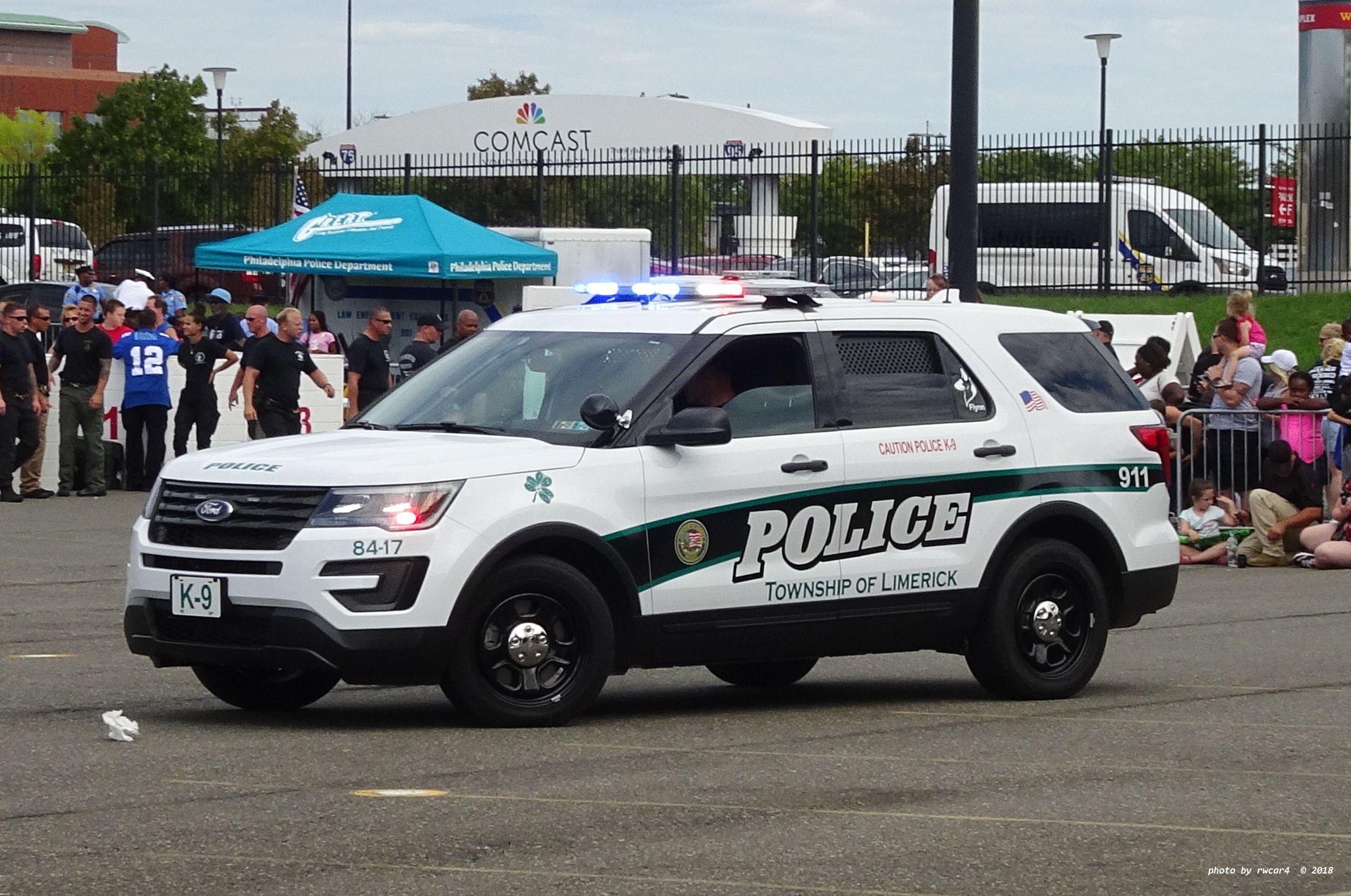 Philadelphia Pennsylvania Montgomery County Limerick Police