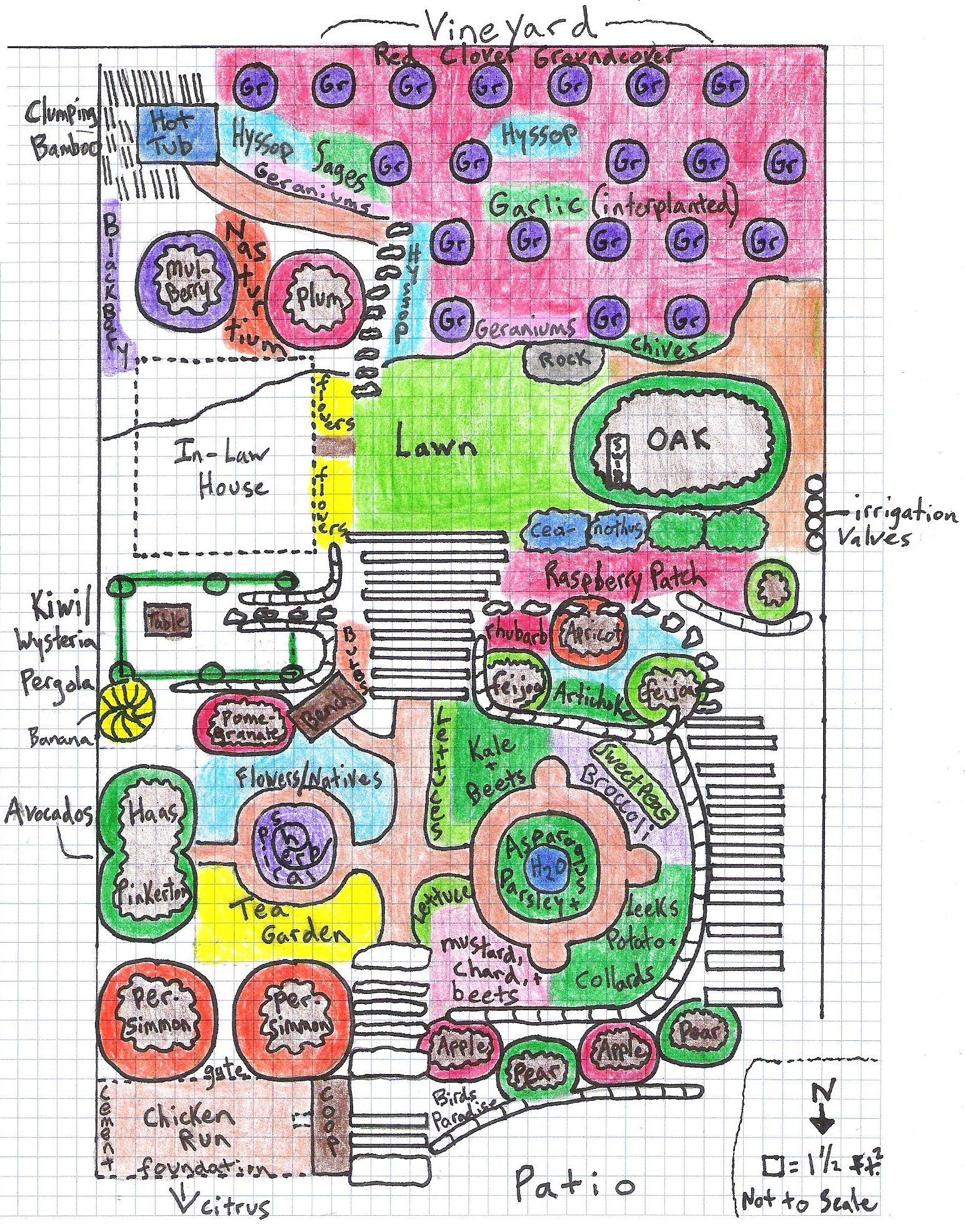 Permaculture Design Examples Google Search: A Permaculture Design For A Family In The Uplands