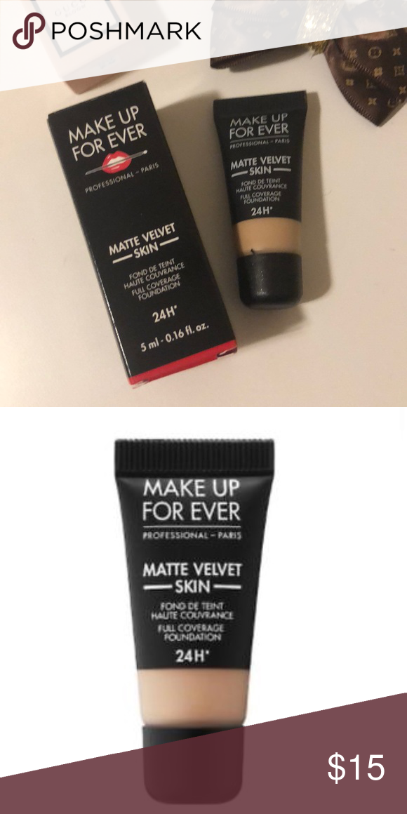 MakeUp ForEver Make Up For Ever •Matte velvet skin