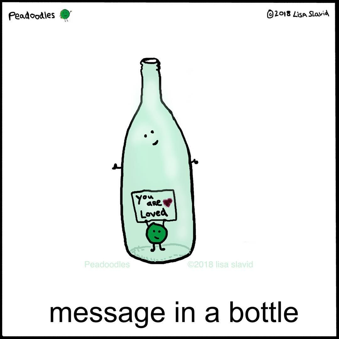 Funny Pun Message In A Bottle Funny Puns Puns Jokes Snoopy Funny