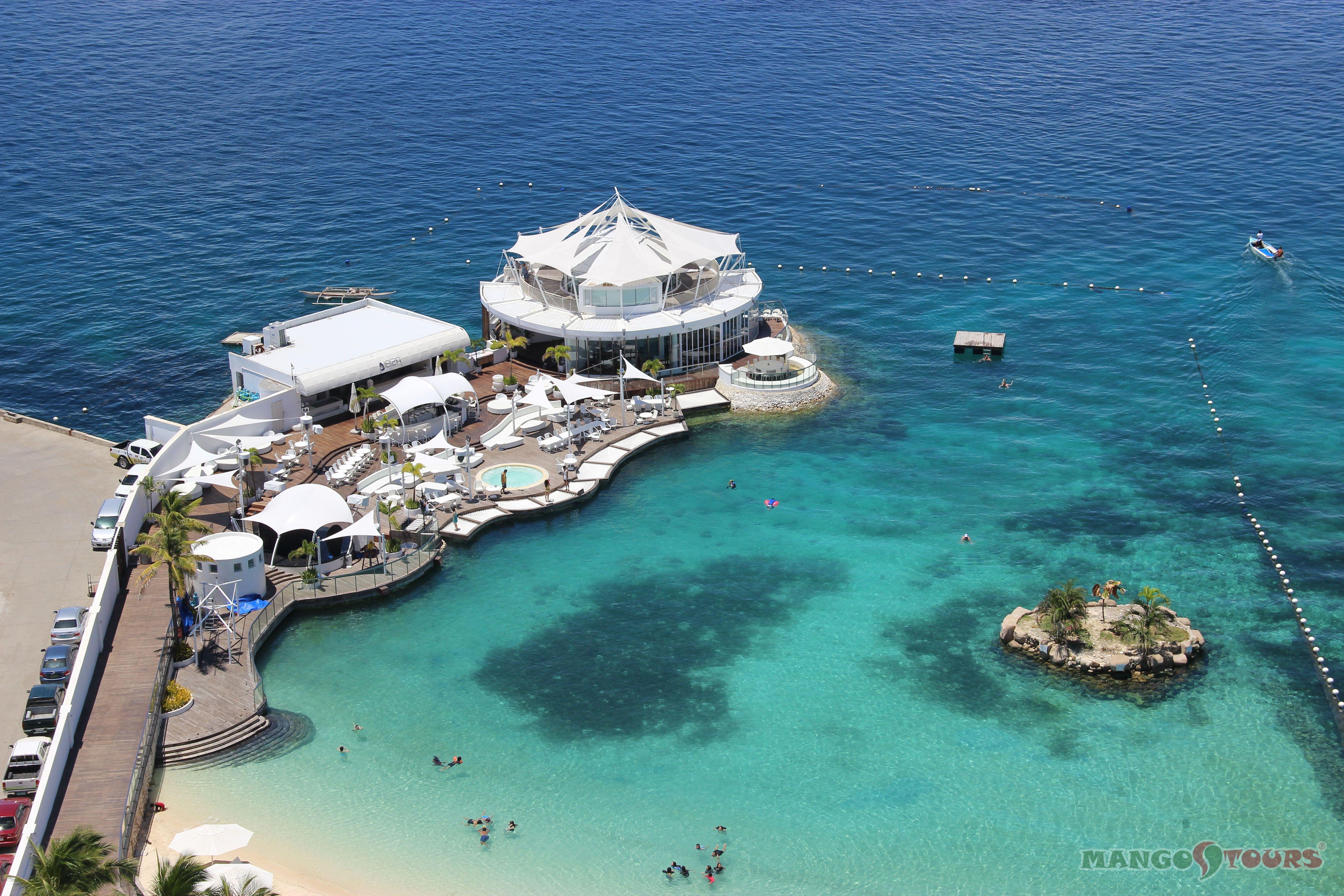 Mövenpick Hotel Mactan Island Cebu The Ibiza Beach Club Restaurant Mango Tours Philippines