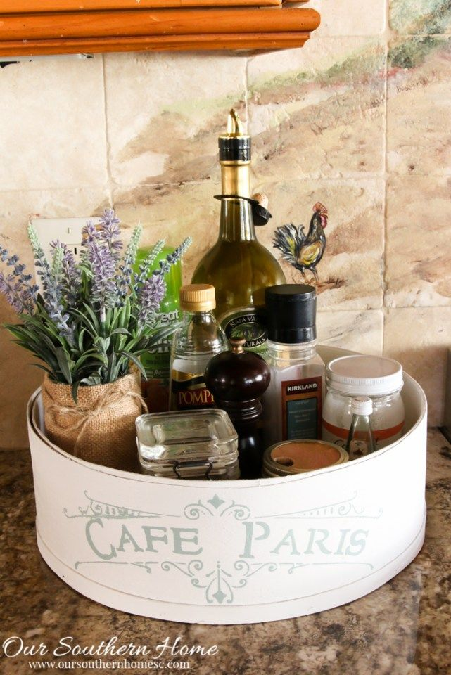 Photo of Thrift Store Cheese Box Caddy Makeover – Our Southern Home