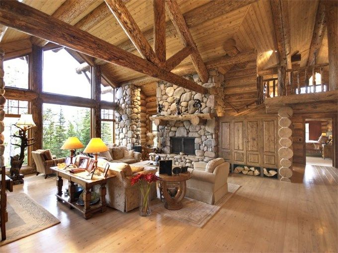 Luxury home in Big Sky, Montana
