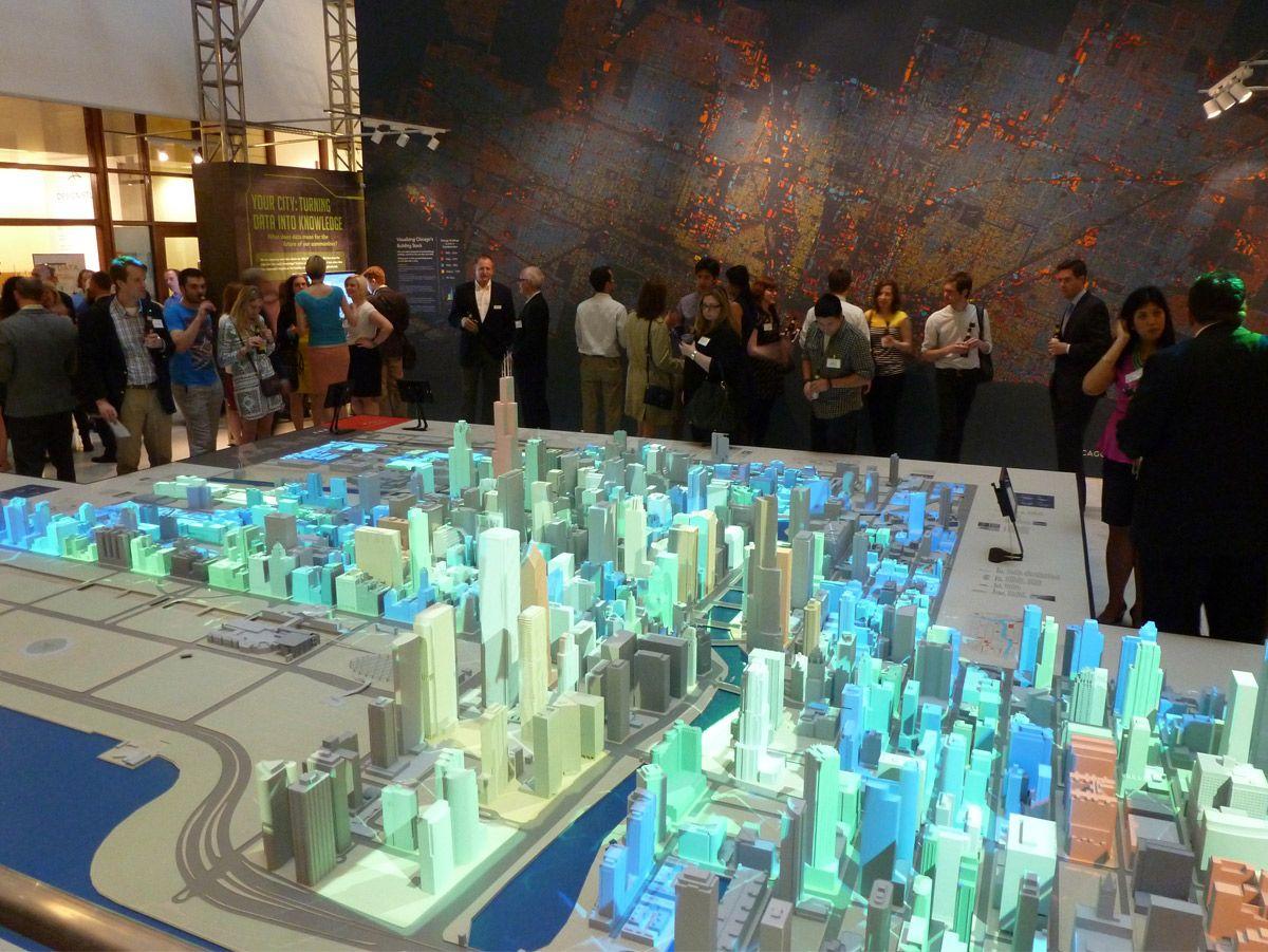 Interactive City Model Google Search Model Exhibits