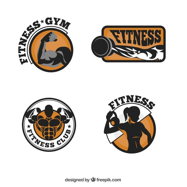 Download Fitness Logo Collection For Free In 2020