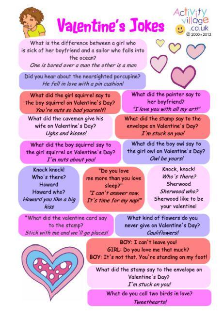 Valentines Jokes | LOGOS | Valentines day jokes, Valentine ...