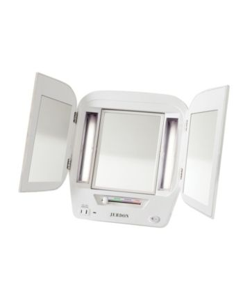 Jerdon The Jgl12w Lighted Makeup Mirror Reviews Bathroom