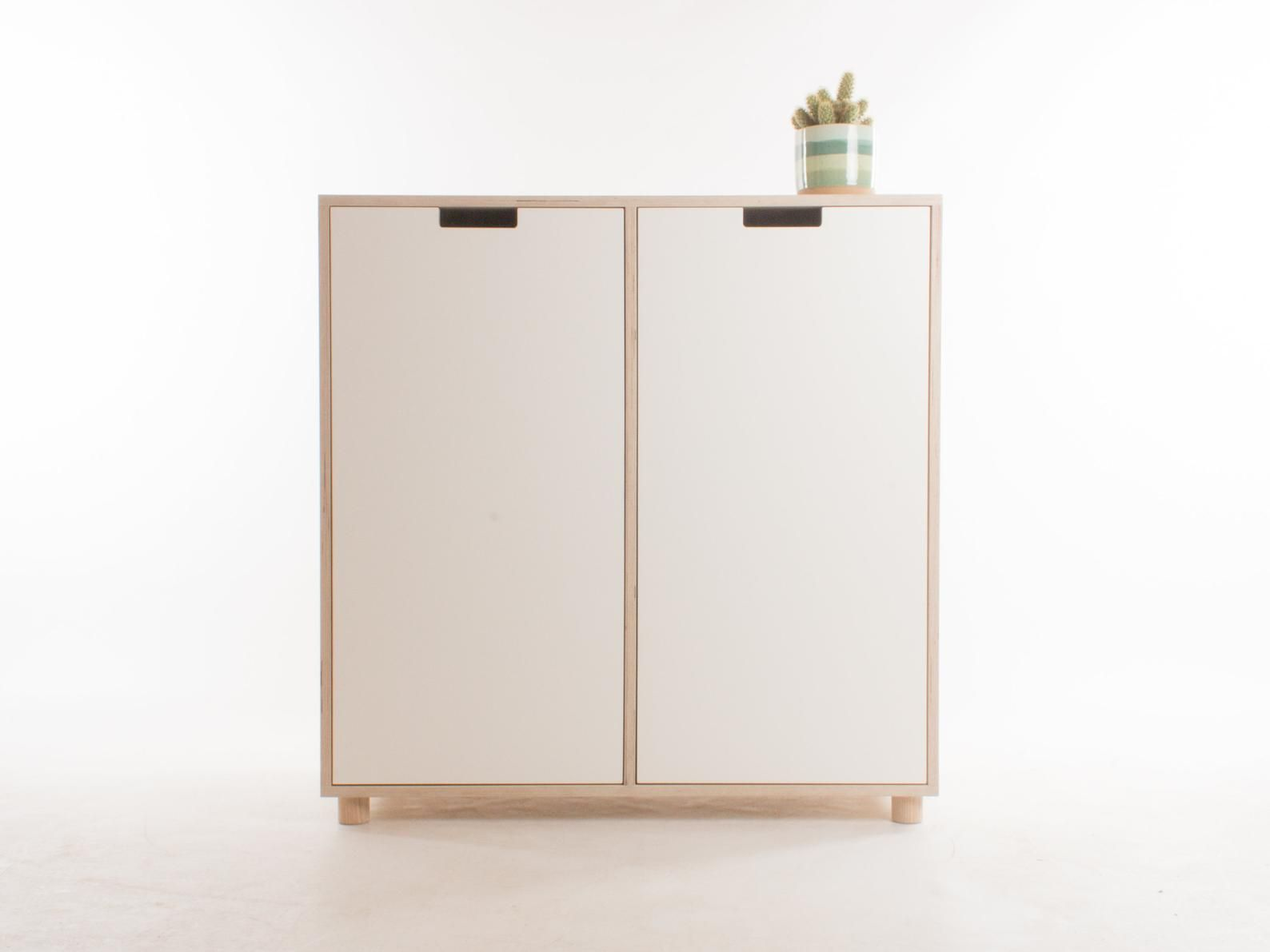 Oslo Hohe Sideboard Schrank Credenza Etsy Tall Sideboard Cupboard Storage Tall Sideboard Cabinet
