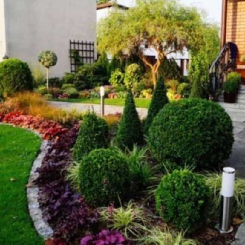 Simple But Elegant Front Yard Decorating Ideas 29 ...