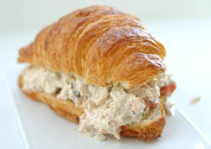 Mighty Fine Tuna Salad Croissant Sandwich