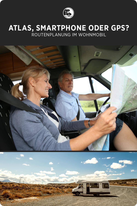 Routenplanung im Wohnmobil: Atlas, Smartphone oder GPS