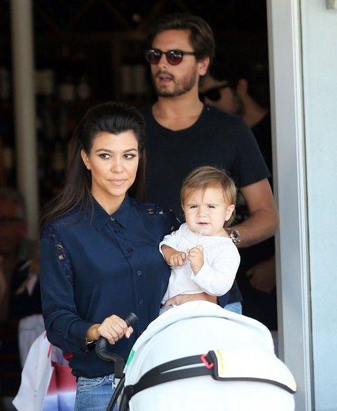 Kourtney Kardashian Shopping At Barneys New York