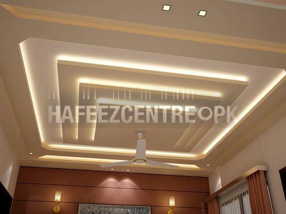 Living room ceiling: