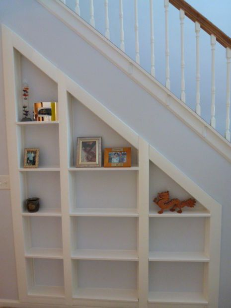Bookshelves Under Stairs hidden room under the stairs | storage area, shelves and storage