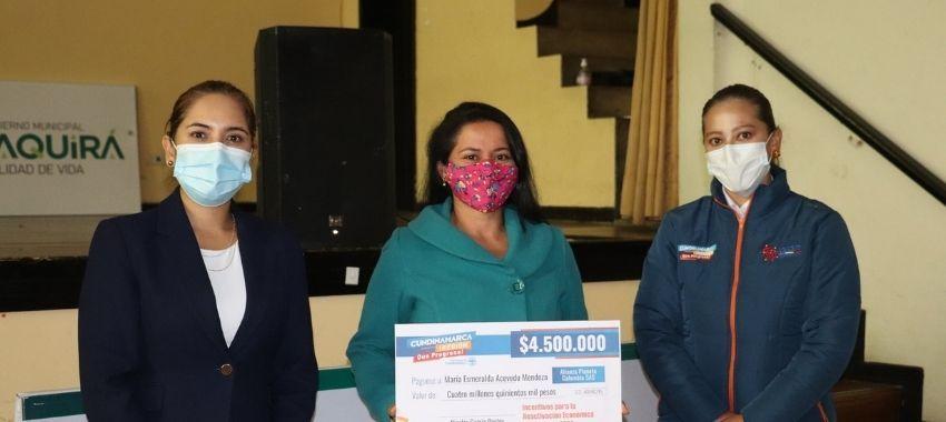 346 Prestadores de servicios turísticos de 74 municipios de Cundinamarca beneficiados con incentivos económicos