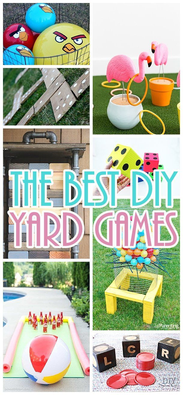 Do it yourself outdoor party games the best backyard for Clever diy projects