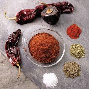 Chile Spice Rub