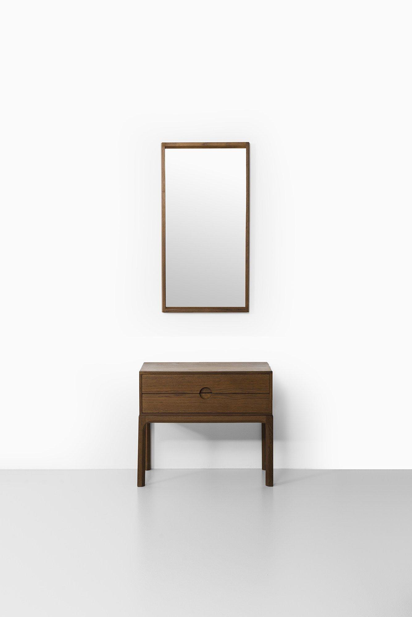 Aksel Kjersgaard bureau and mirror in teak at Studio Schalling