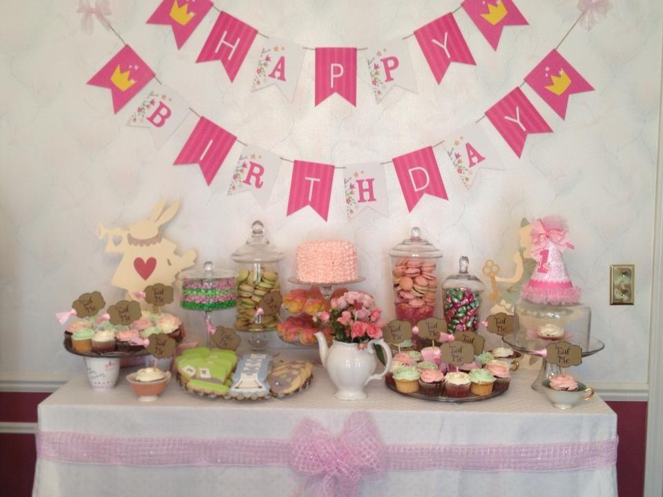 alice in wonderland childrenu0027s birthday party ideas
