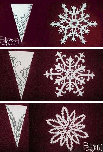 Fancy Snowflake Patterns Ed From Facebook