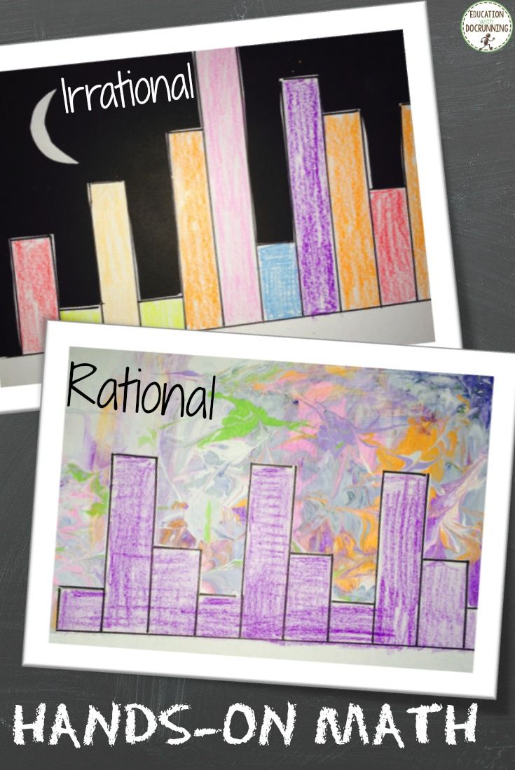 Pi Day Activities Rational Irrational Numbers Irrational