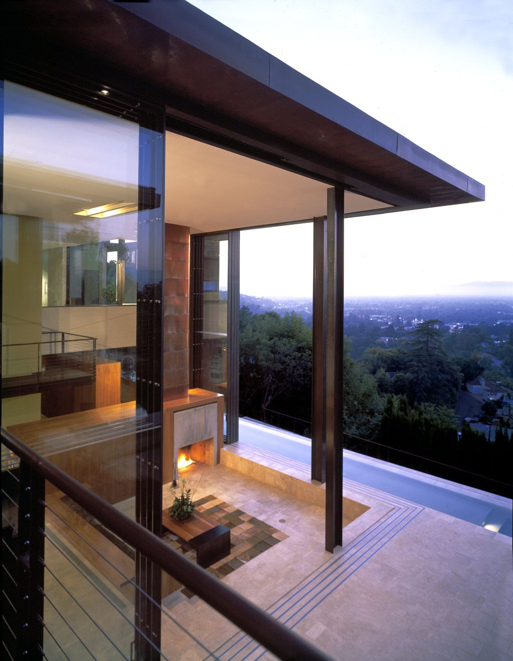 Pugh Scarpa Architects Redelco Residence In Studio City Overlooking The San Fernando Valley Ca House Ranch Style Homes Modern Architecture