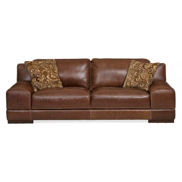 Rio Lobo Leather Sofa | Simon Li | Star Furniture | Houston, TX Furniture |