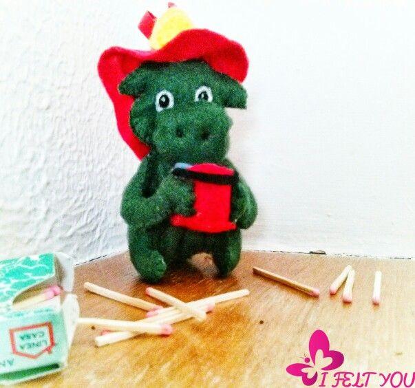 Grisù #grisu #drago #grisuu #grisuilpompiere #pompiere #fuoco
