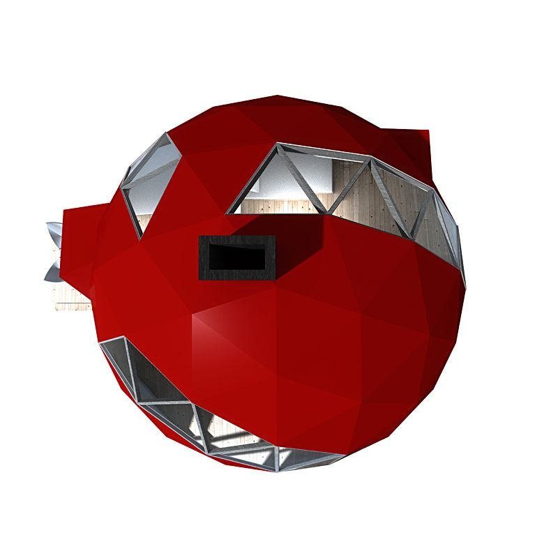 Nrja Reveals Plans For An Off The Grid Foldable Geodesic: Pin By Brandon Mccall On Ideas For My Retirement Home
