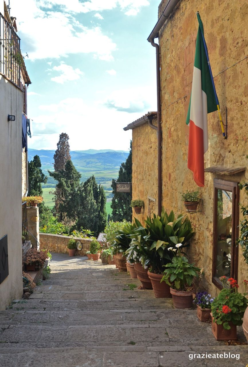 O Burgo Medieval De Pienza Na Romantica Regiao Do Val D Orcia