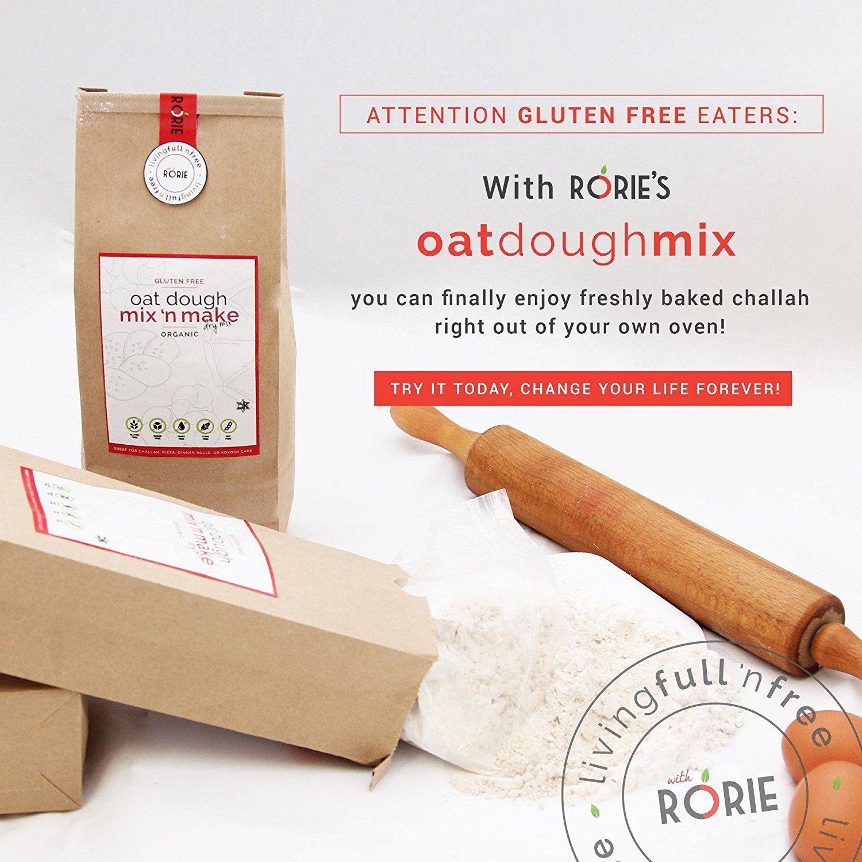 Rorie's Gluten Free Oat Dough Mix (22 oz) >>> Click image