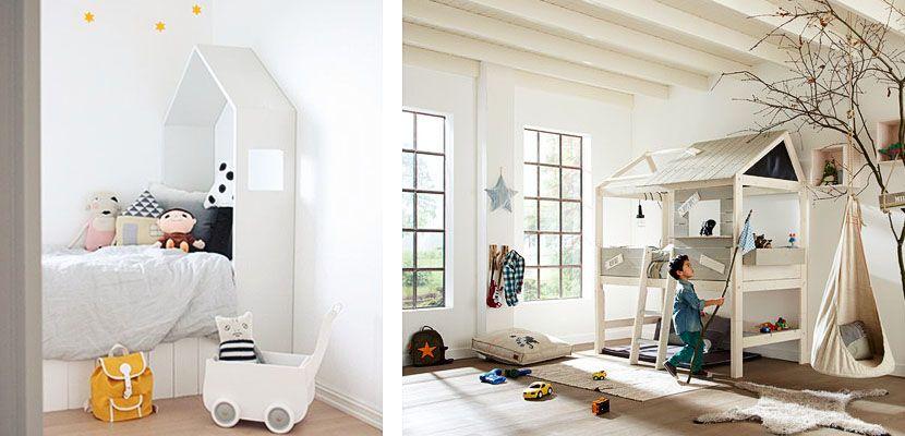 Camas con forma de casa para ni os habitaciones - Habitaciones ninos originales ...