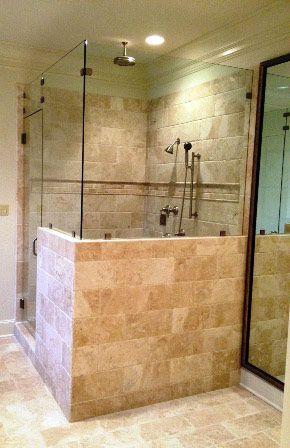 Remodeling Bathrooms / Custom showers Bathrooms Pinterest