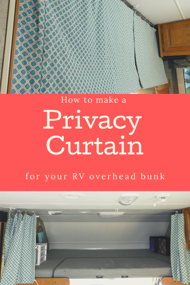 How To Sew An Rv Privacy Curtain Simple Steps And Supply List