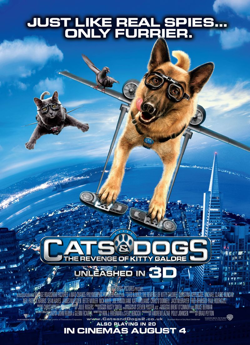 Cats vs Dogs 2 Dog movies, Dog cat, Dog films
