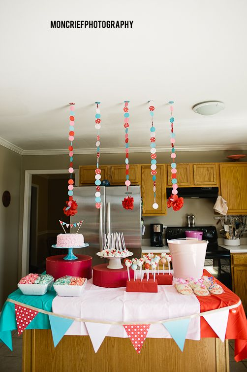 An Adorable Hello Kitty Birthday Party Tablescape For A Cute Little 3 Year Old Girl