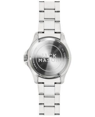 05e854653 Jack Mason Women s Tampa Bay Buccaneers Glitz Sport Bracelet Watch -  Silver White