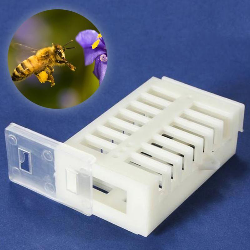 Plastic Queen Marker Cage Clip Bee Catcher Beekeeper Beekeeping Tools Equipment