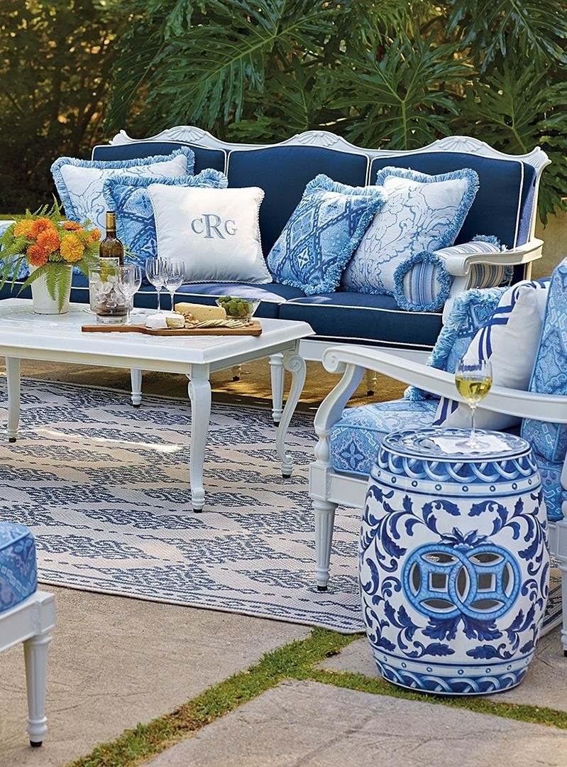 Outdoor Cushions Patio Furniture Color Schemes