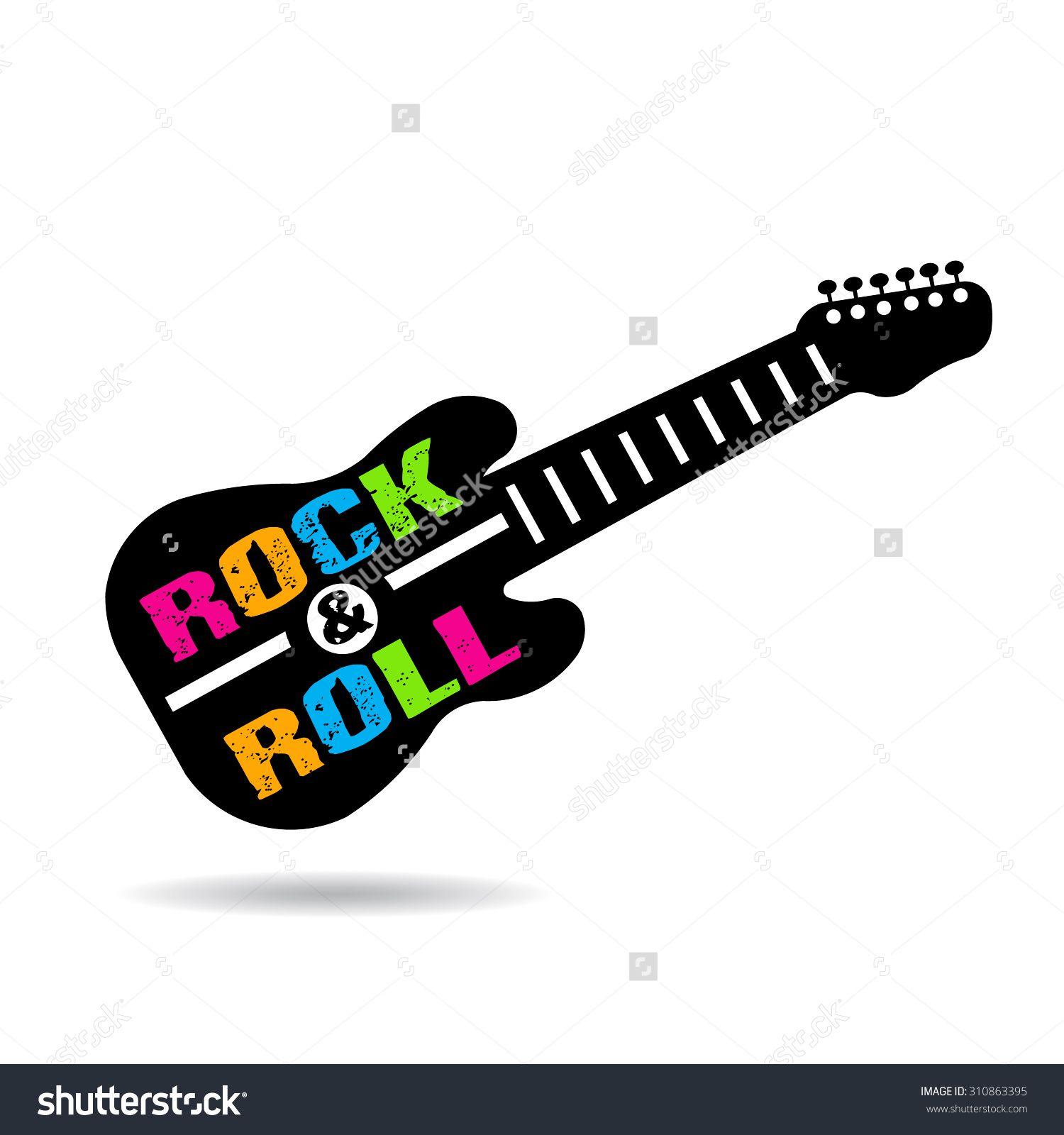 Famoso Colorear Guitarra De Rock Cresta - Ideas Para Colorear ...
