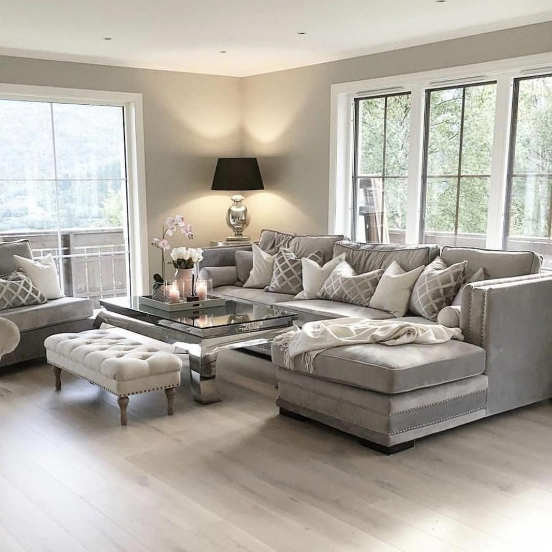Home Decor 2012 Luxury Homes Interior Decoration Living: We Love This Sofa Style And Gorgeous Living Room, 📷 By