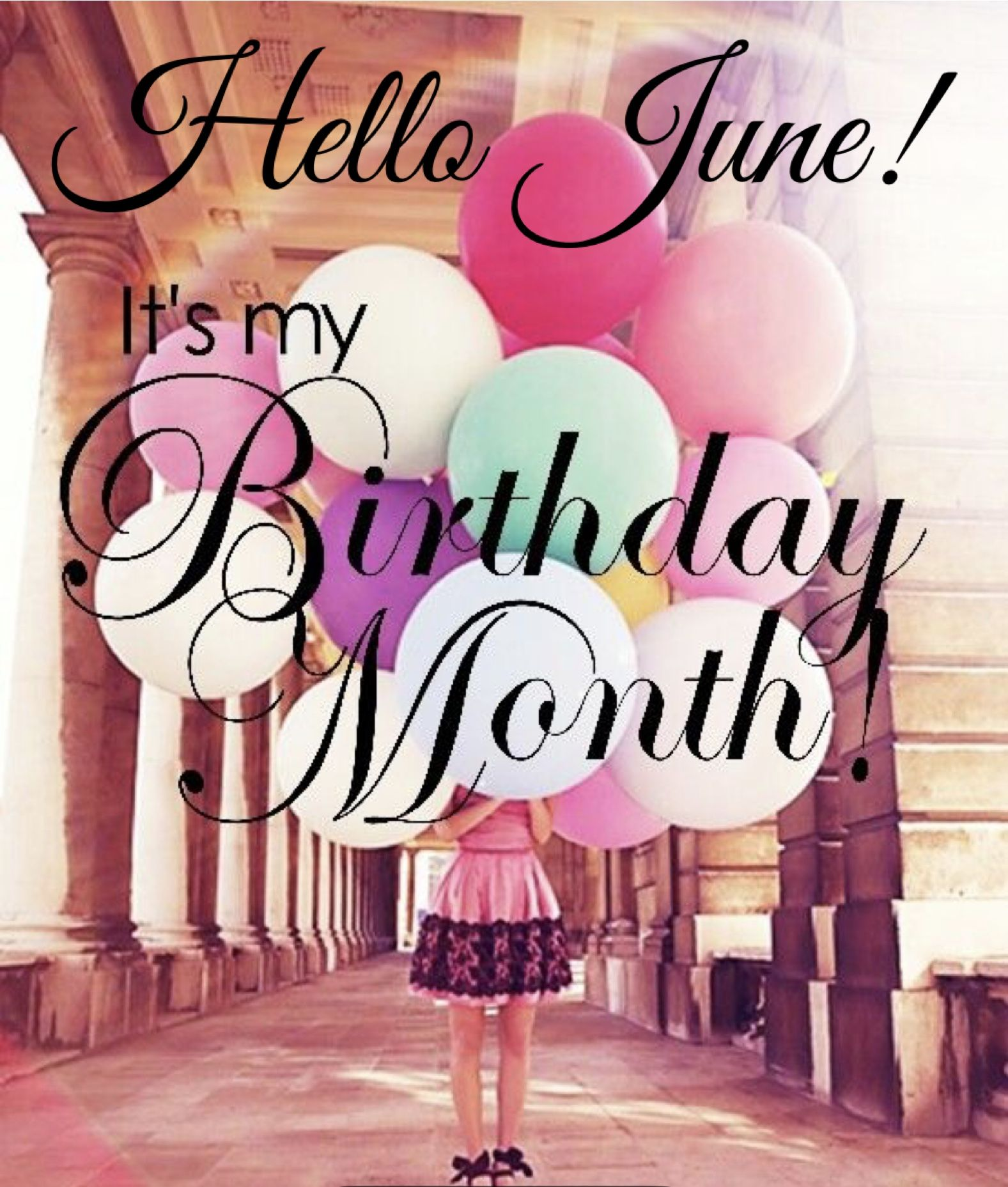 Happy Birthday To Me All Month Long With Images Birthday